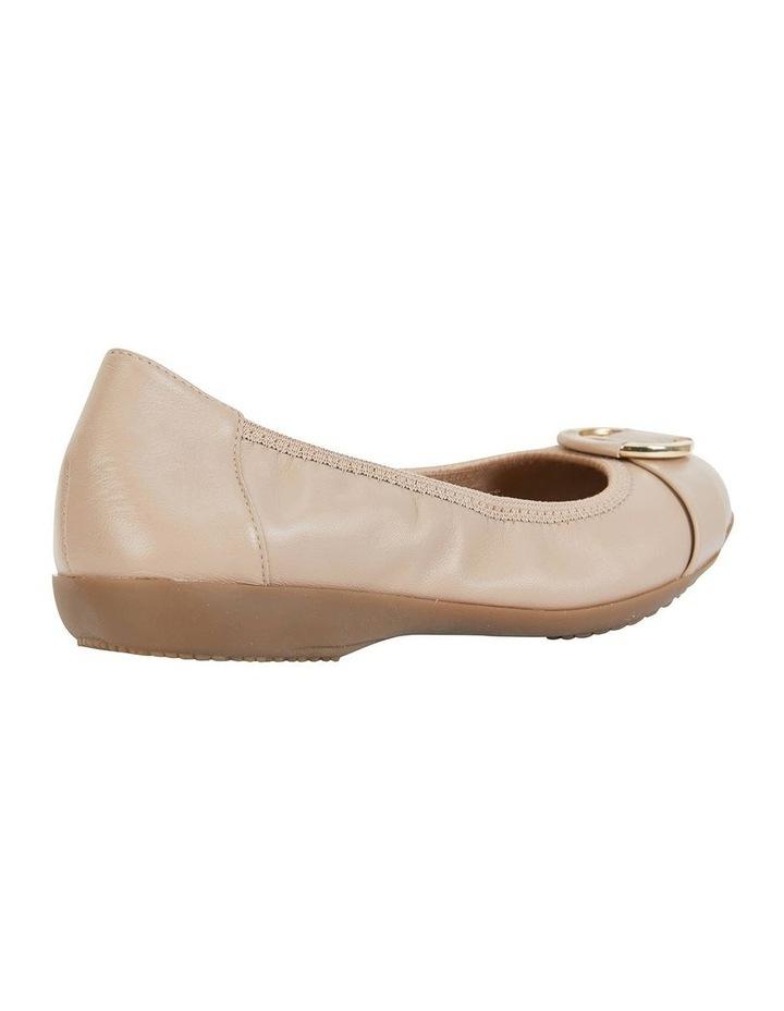 Nadine Nude Glove Flat Shoes image 3