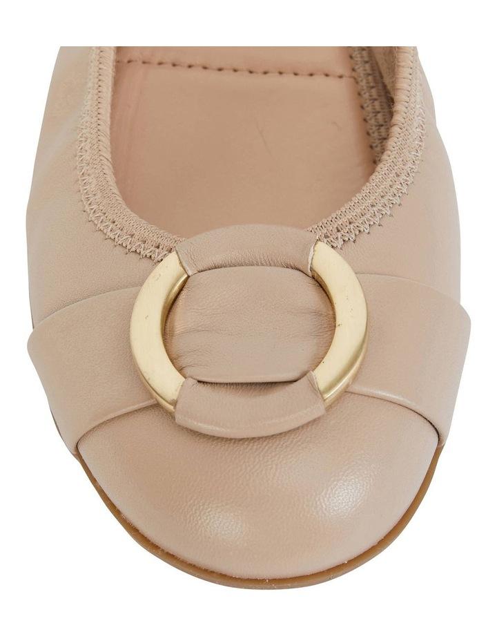 Nadine Nude Glove Flat Shoes image 6