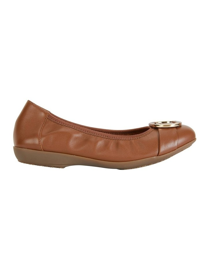 Nadine Tan Glove Flat Shoes image 1