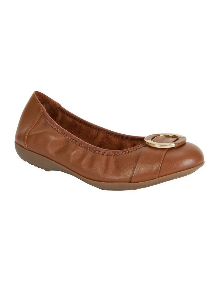 Nadine Tan Glove Flat Shoes image 2