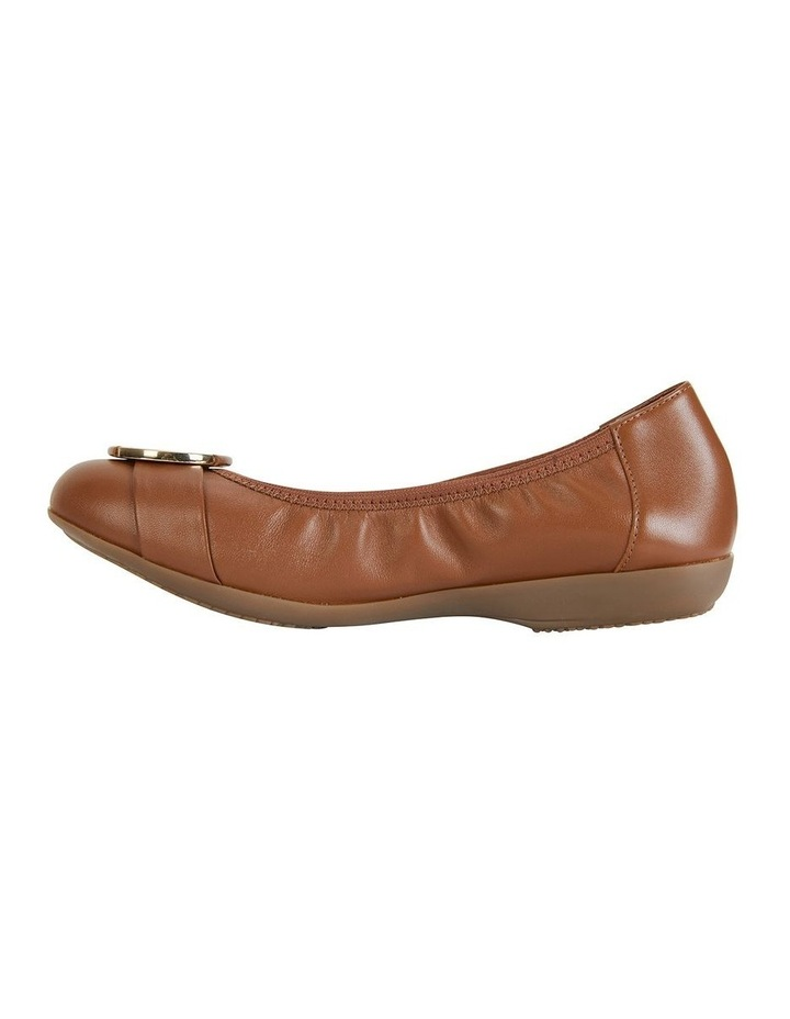 Nadine Tan Glove Flat Shoes image 3
