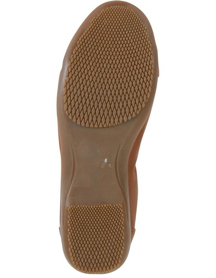 Nadine Tan Glove Flat Shoes image 4