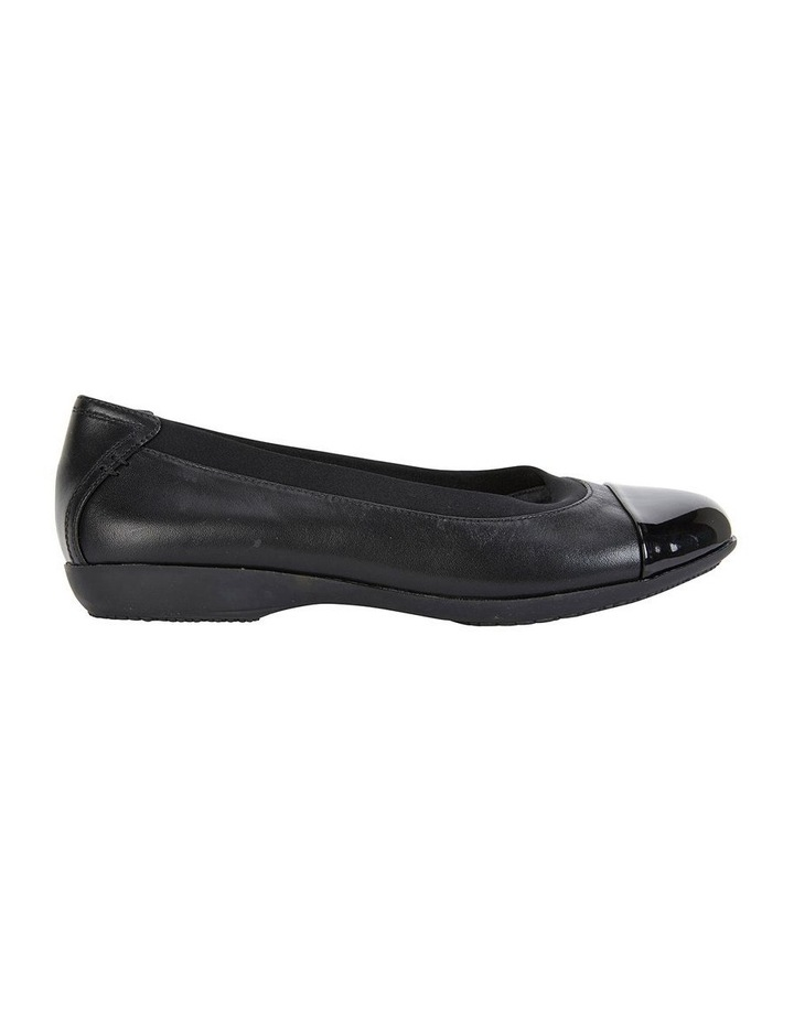 Nelson Black Glove Flat Shoes image 1