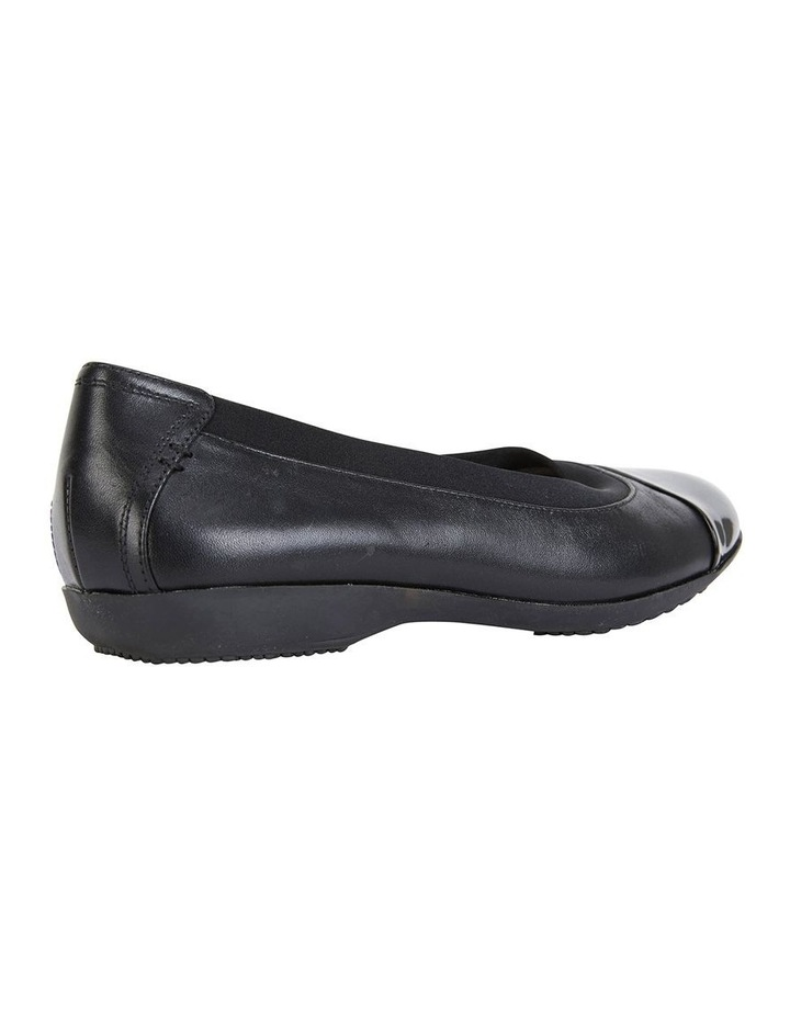 Nelson Black Glove Flat Shoes image 4
