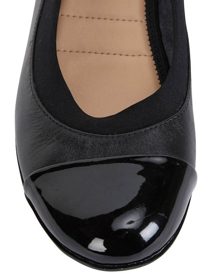 Nelson Black Glove Flat Shoes image 6
