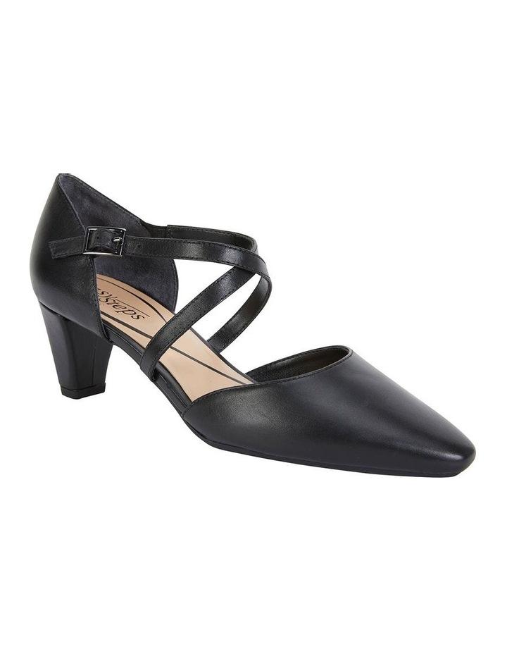Adison Black Glove Heeled Shoe image 2