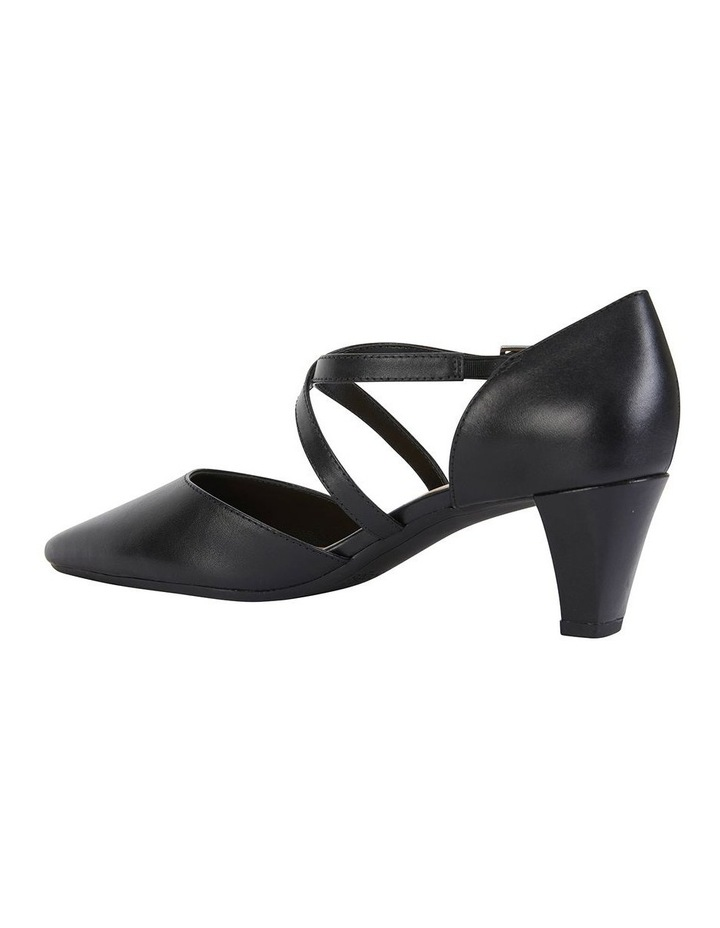 Adison Black Glove Heeled Shoe image 4