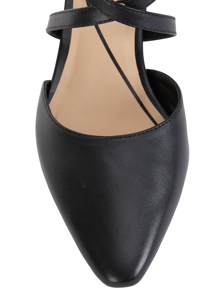 Adison Black Glove Heeled Shoe image 5