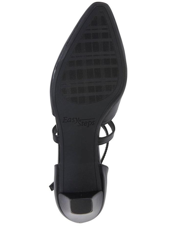 Adison Black Glove Heeled Shoe image 6