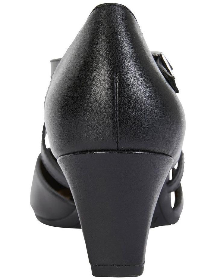 Adison Black Glove Heeled Shoe image 7