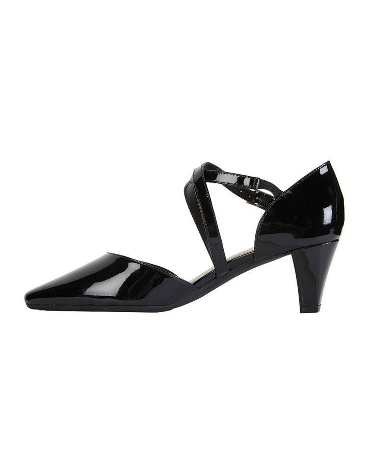Adison Black Patent Heeled Shoe image 3