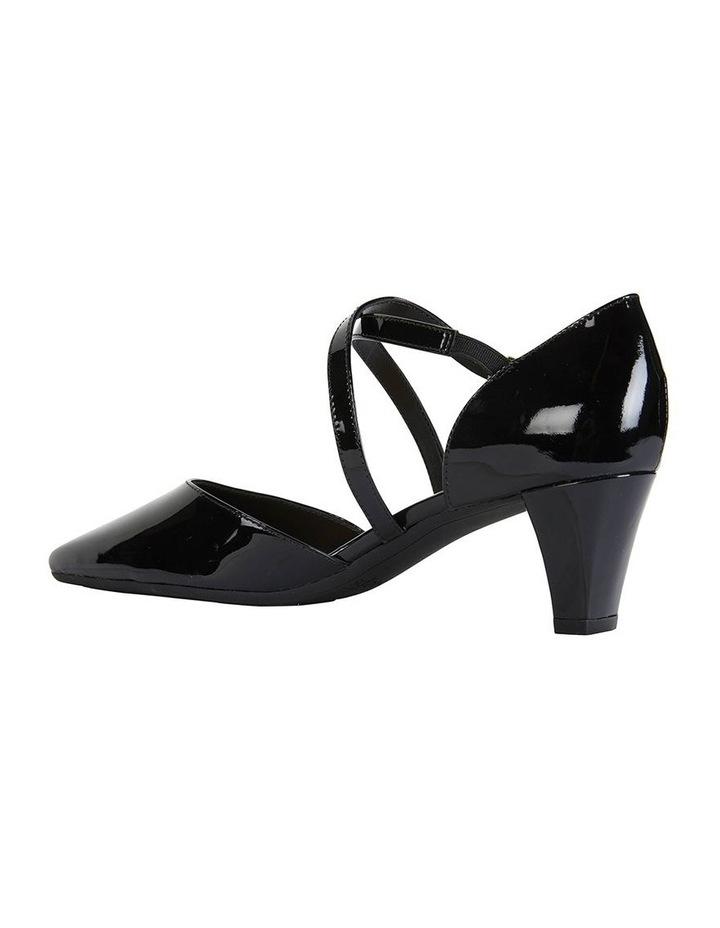 Adison Black Patent Heeled Shoe image 4