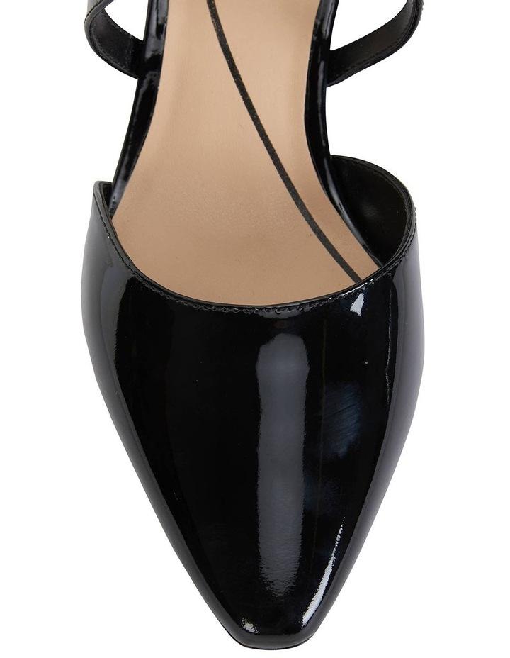 Adison Black Patent Heeled Shoe image 5