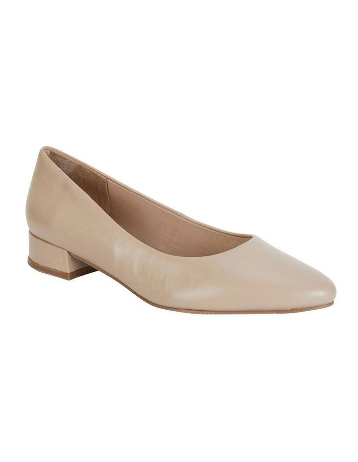 Janine Nude Glove Heeled Shoe image 1