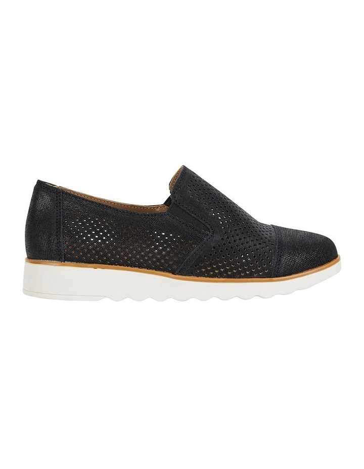 Davis Black Combo Flat Shoes image 1