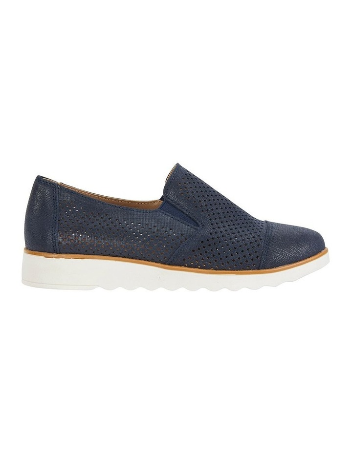 Davis Navy Combo Flat Shoes image 1