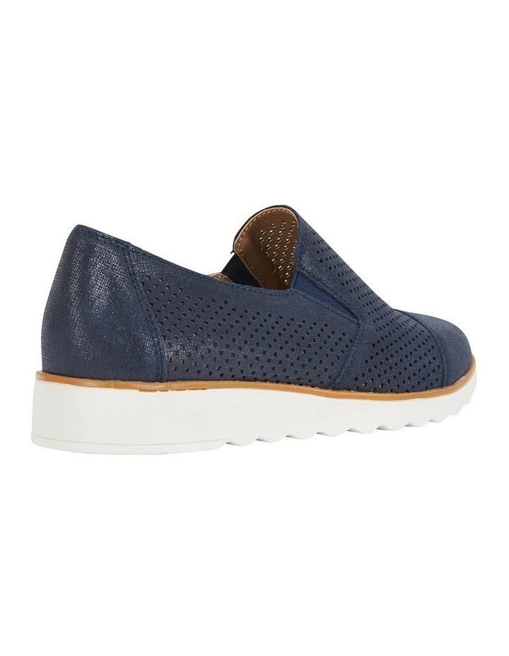 Davis Navy Combo Flat Shoes image 3