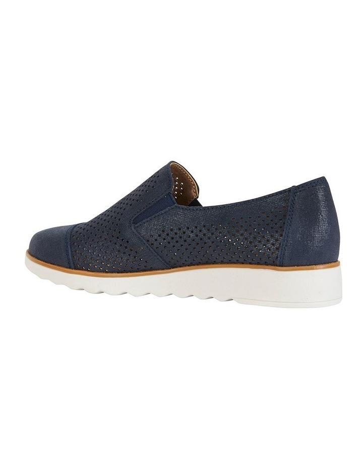 Davis Navy Combo Flat Shoes image 4