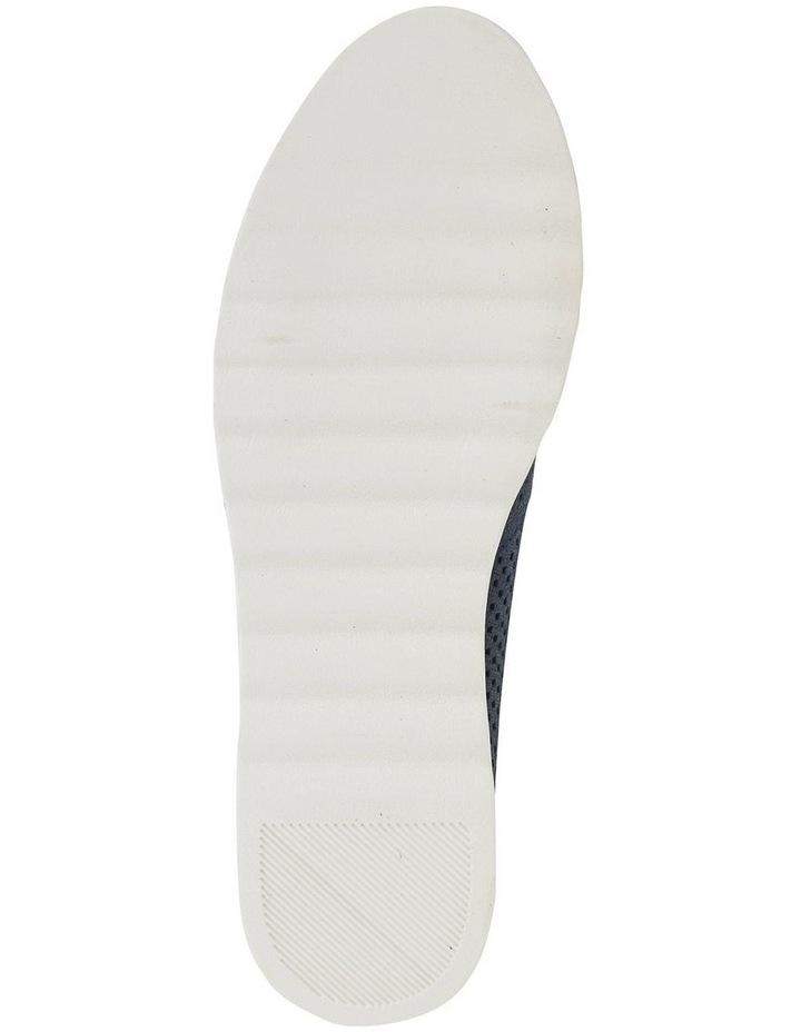 Davis Navy Combo Flat Shoes image 5