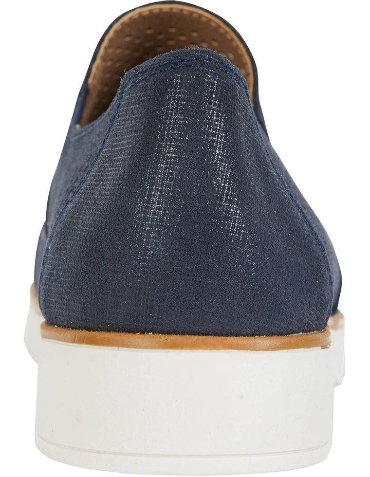Davis Navy Combo Flat Shoes image 6