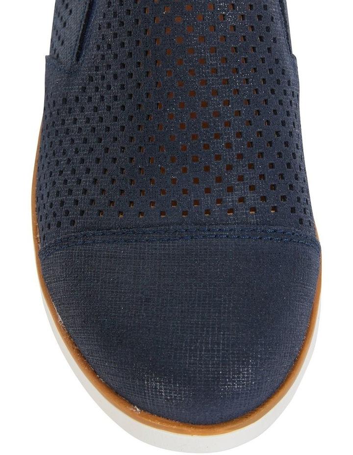 Davis Navy Combo Flat Shoes image 7