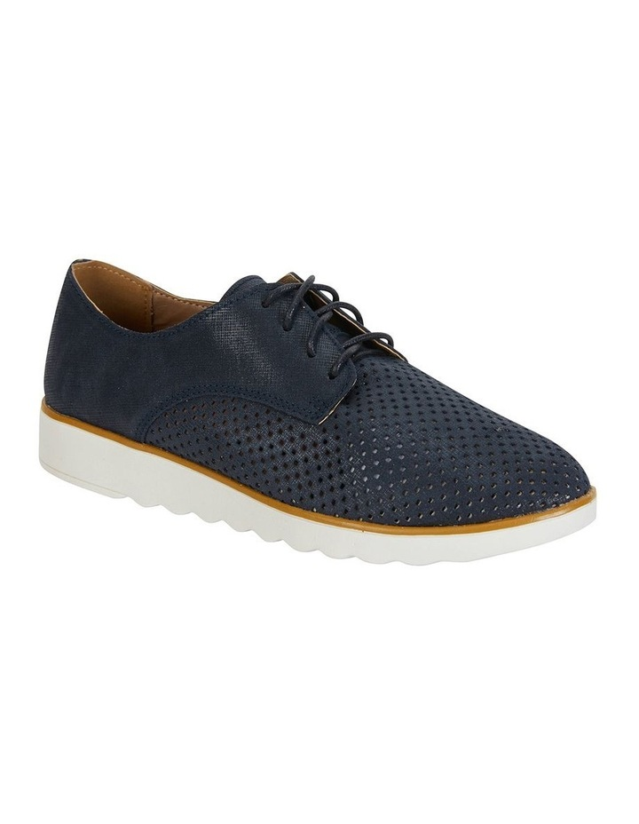 Deed Navy Combo Flat Shoes image 1