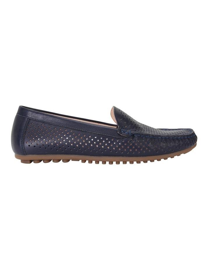Gabriel Navy Glove Flat Shoes image 1