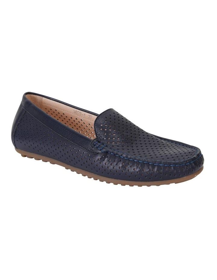 Gabriel Navy Glove Flat Shoes image 2
