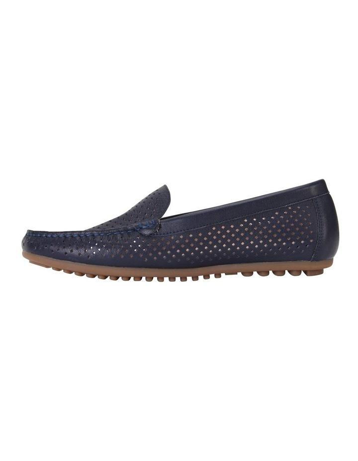 Gabriel Navy Glove Flat Shoes image 3