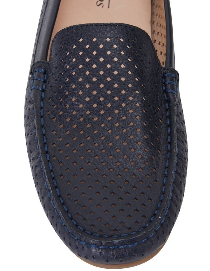 Gabriel Navy Glove Flat Shoes image 5