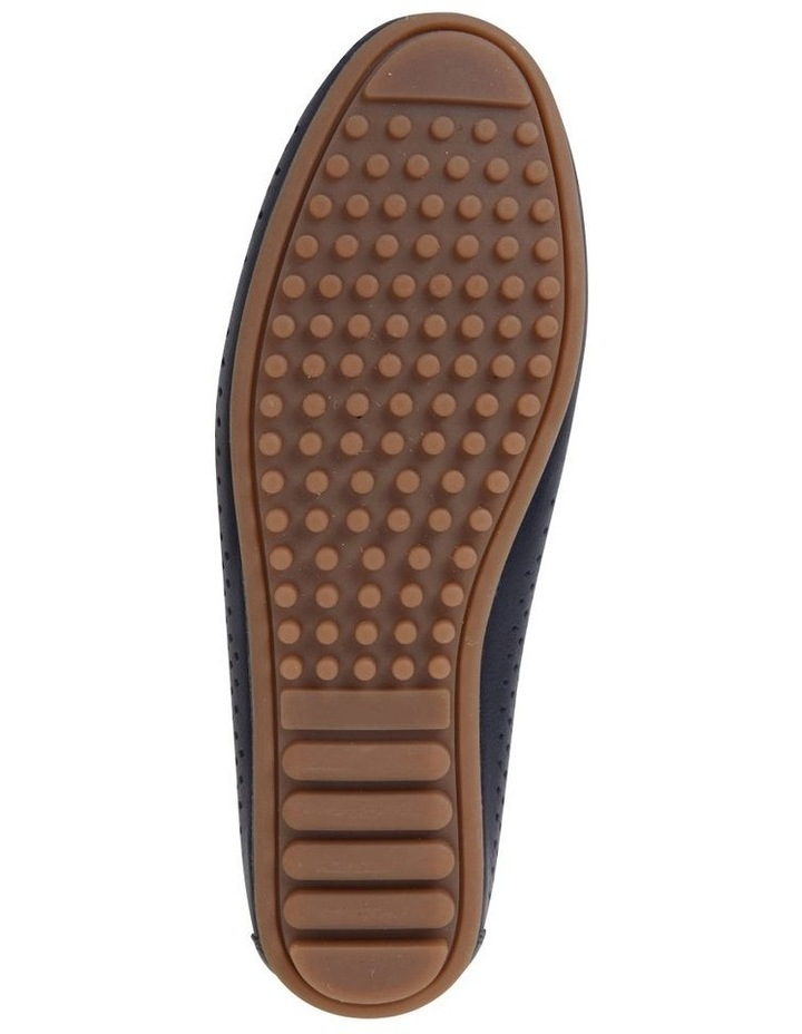 Gabriel Navy Glove Flat Shoes image 6