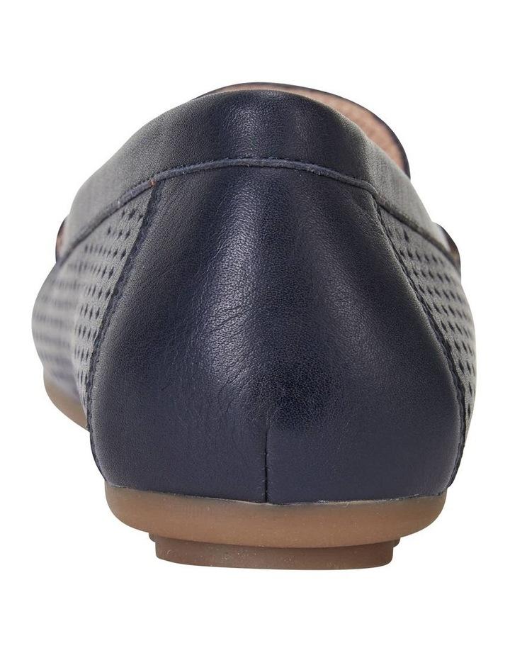 Gabriel Navy Glove Flat Shoes image 7