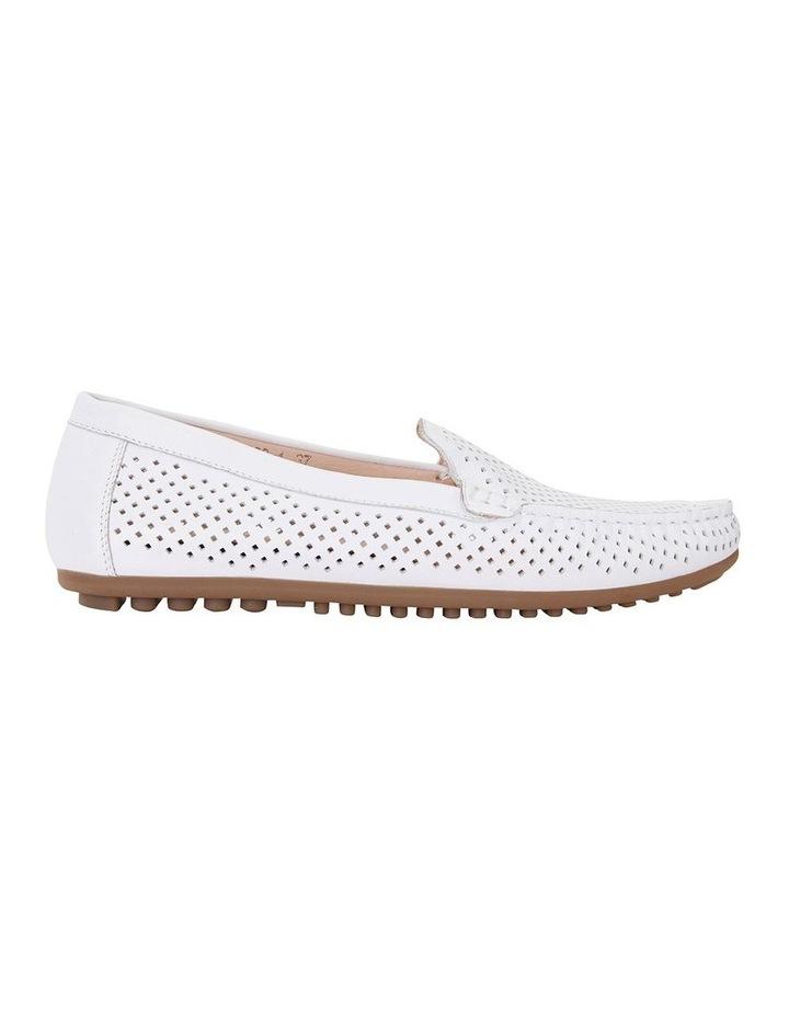 Gabriel White Glove Flat Shoes image 1