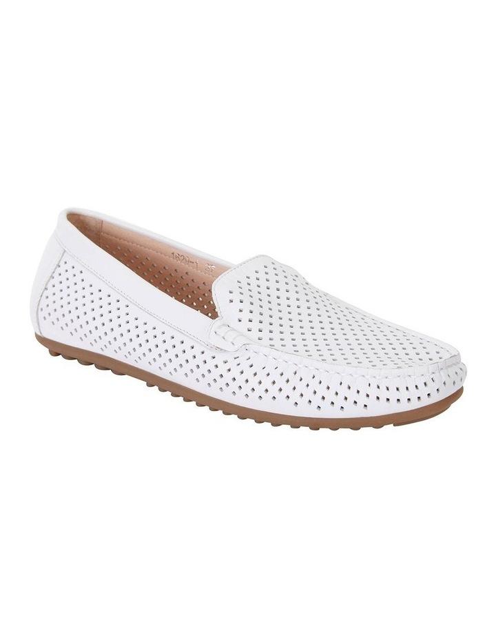 Gabriel White Glove Flat Shoes image 2