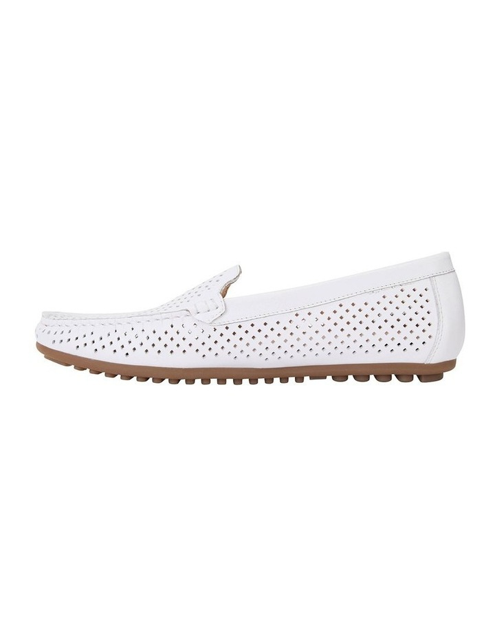 Gabriel White Glove Flat Shoes image 3