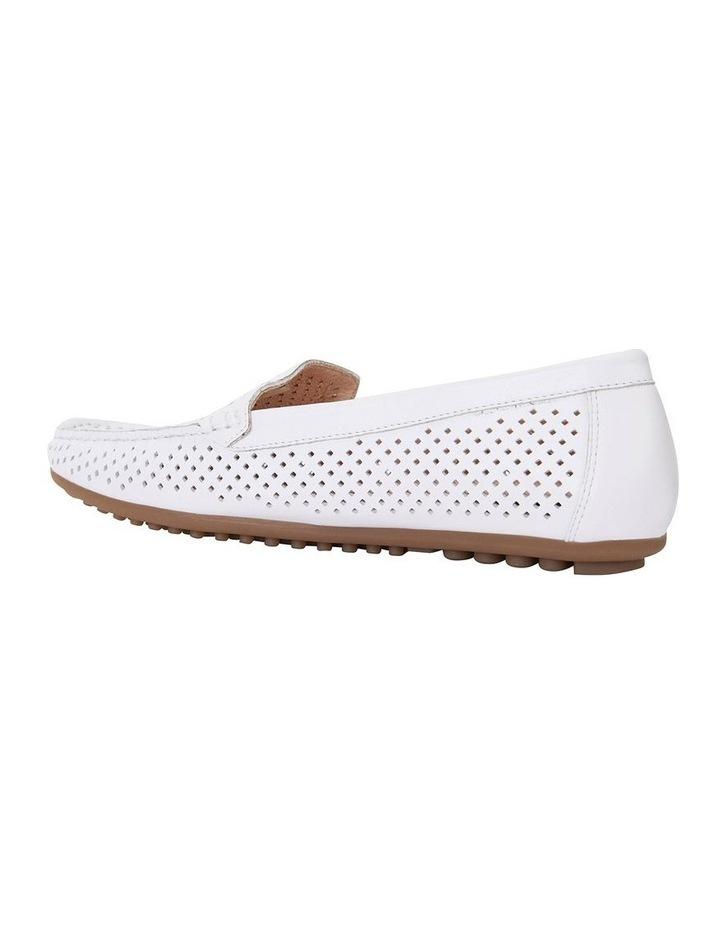 Gabriel White Glove Flat Shoes image 4