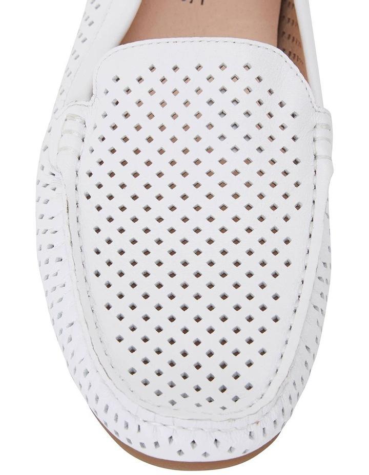 Gabriel White Glove Flat Shoes image 5