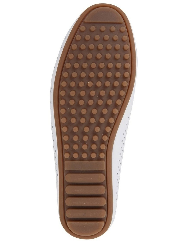 Gabriel White Glove Flat Shoes image 6