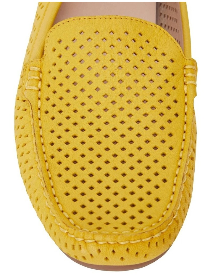 Gabriel Yellow Glove Flat Shoes image 5