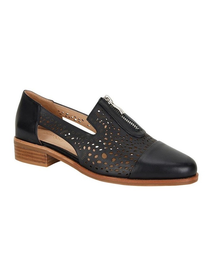 Hanover Black Glove Flat Shoes image 2