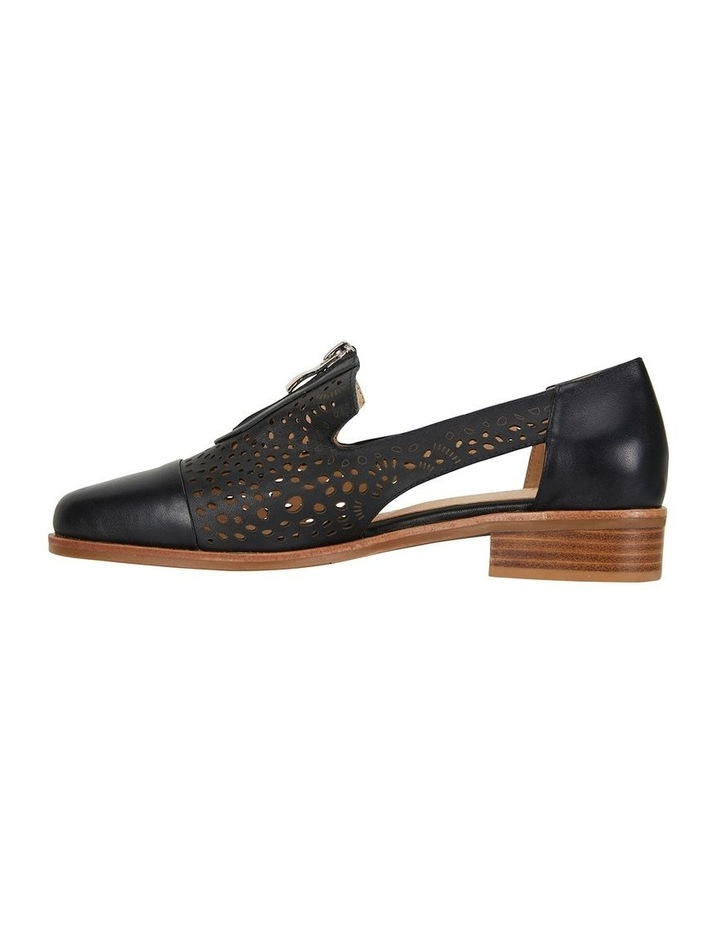 Hanover Black Glove Flat Shoes image 3