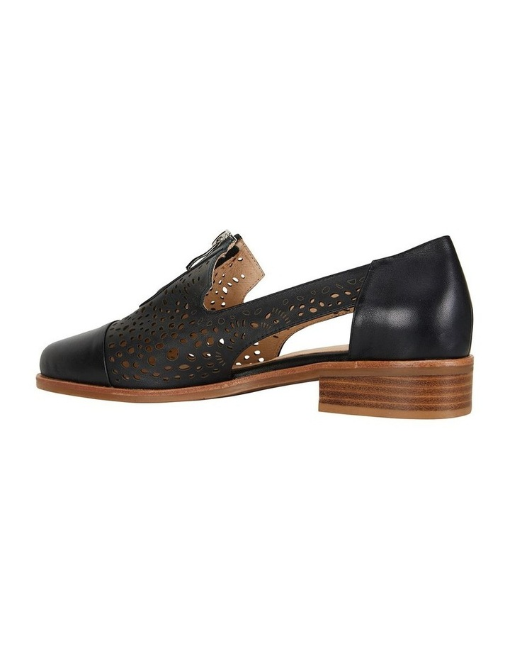 Hanover Black Glove Flat Shoes image 4