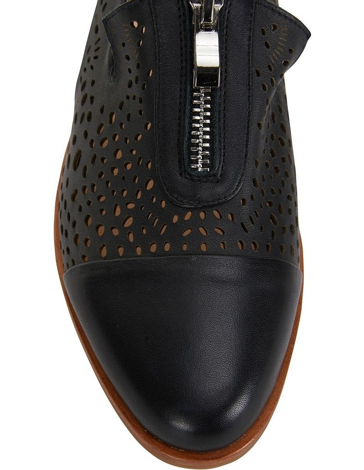 Hanover Black Glove Flat Shoes image 5