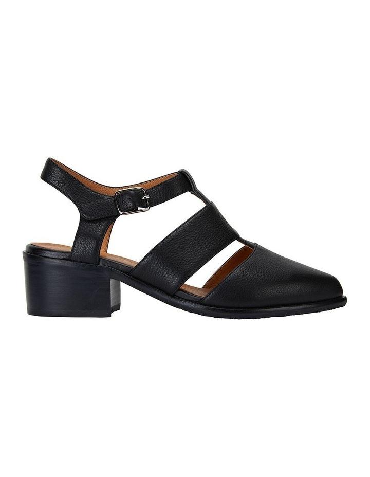 Hart Black Glove Heeled Shoes image 1