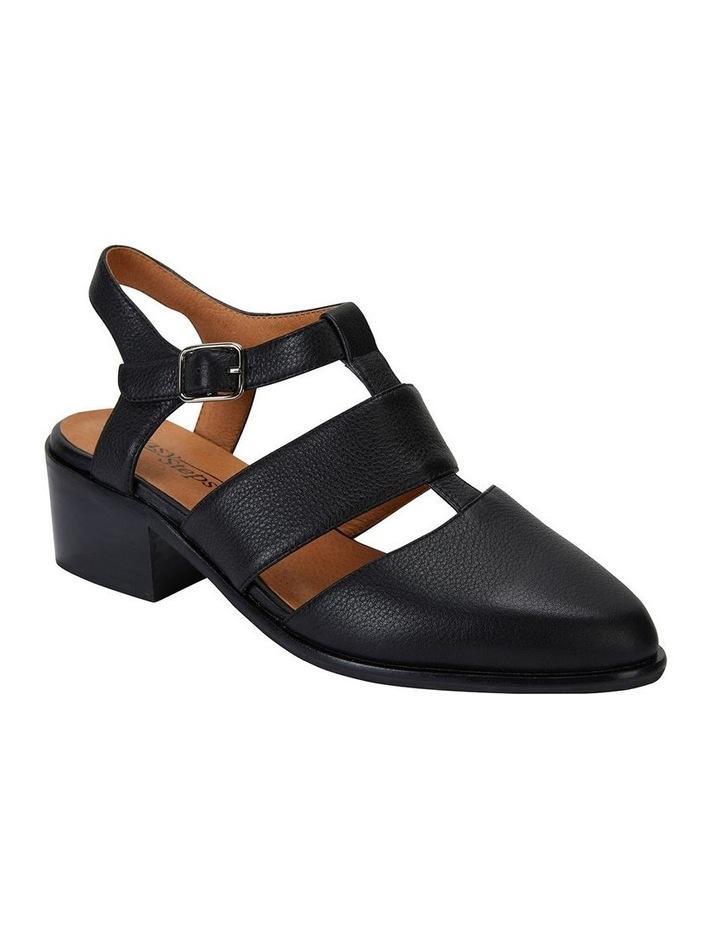 Hart Black Glove Heeled Shoes image 2