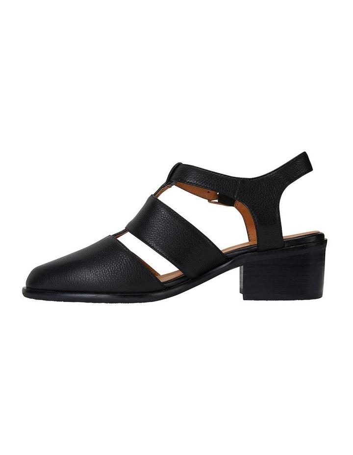 Hart Black Glove Heeled Shoes image 3