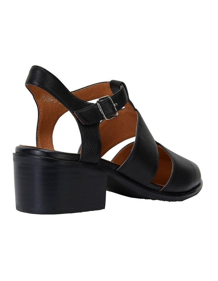 Hart Black Glove Heeled Shoes image 4