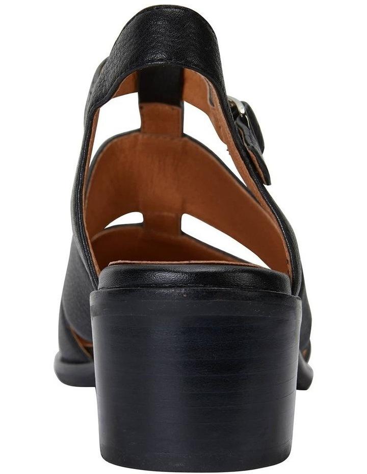 Hart Black Glove Heeled Shoes image 5