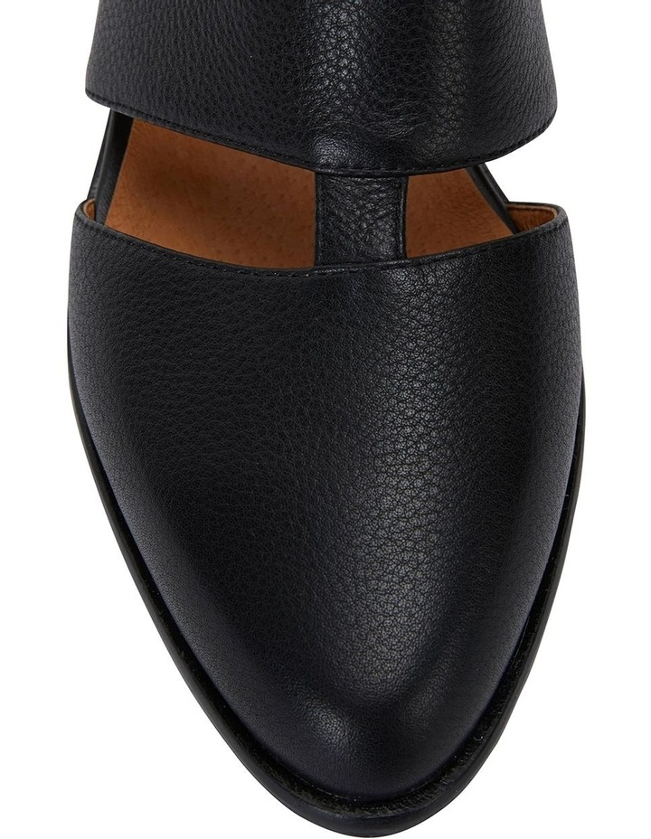 Hart Black Glove Heeled Shoes image 6