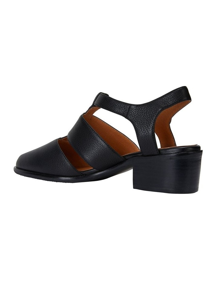 Hart Black Glove Heeled Shoes image 7